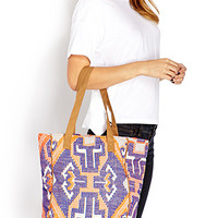 Bold Abstract Geo Tote