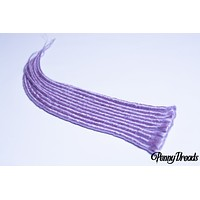 """Lavender Single Ended Synthetic Dreadlock Extensions 20"""""""