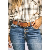 Double Ring Buckle Belt | Colors