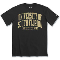 University of South Florida Health Sciences Bookstore - Alta Gracia Rolled Tee