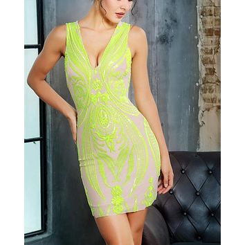 Step Into The Light Luxury Cocktail Dress