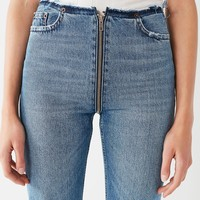 BDG High-Rise Cropped Zipper Jean | Urban Outfitters
