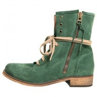 Hydra Combat Boot - Green - Shoes - Accessories | GYPSY WARRIOR