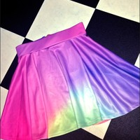 SWEET LORD O'MIGHTY! PURPLE HUE SKATER SKIRT