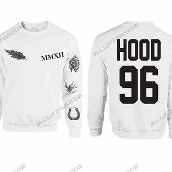 Calum Hood Sweatshirt Tattoos 5 Seconds Of Summer 96 Hood