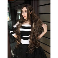100 Cm Fashion Queen Hair Curly Wigs