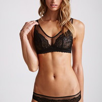 Salt and Sauce Black Elderberry Lingerie Set