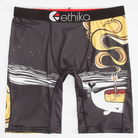 Ethika The Staple Shinn Whale Oil Boxers Yellow Combo  In Sizes