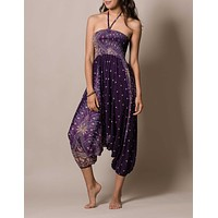 Peacock Harem Pants/Dress - 2 Way