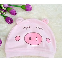 Cute Baby Knitted Soft Warm Cotton Beanie Hat For Toddler Baby Kids Girl Boy Baby Winter Hats Born Caps