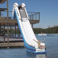 15' Inflatable Dock Slide