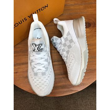LV Louis Vuitton Women's Flyknit V.N.R Sneakers Shoes