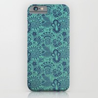 Blue Skin iPhone & iPod Case by Tony Vazquez