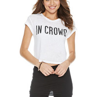 In Crowd Tee - White