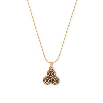 Triskelion Expandable Necklace