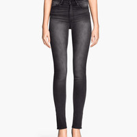 Skinny High Jeans - from H&M