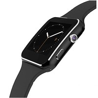 Bluetooth Smart Watch X6 For Apple iPhone Android Phone With Camera Support SIM TF Card
