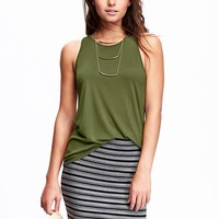 Old Navy Womens High Neck Tanks