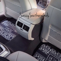 Personalized / Monogrammed Back Car Mats