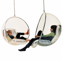 Bubble Chair by Eero Aarnio   Ball Chair by Eero Aarnio - The original from Finland