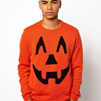 ASOS Halloween Pumpkin Sweater