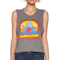 "Chaser Tom Petty Rock ""N"" Roll Tank in Gray"