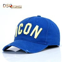 Trendy Winter Jacket Baseball Cap For Men Women 2018 Snapback Hat Adjustable Hat Fashion Letter ICON Embroidery Hats Visor Cap Dad Hats DSQICOND2 AT_92_12