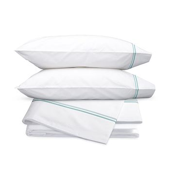 Essex Lagoon Embroidered Hotel Sheet Set by Matouk
