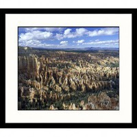 Great American Picture Rock Formations Framed Photograph - IS952502 - All Wall Art - Wall Art & Coverings - Decor