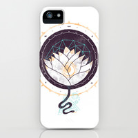Lotus iPhone & iPod Case by Hector Mansilla
