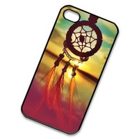 S9Y Xmas Christmas Gift Sunrise Dreamcatcher Feather Mayan Aztec Tribal Hard Case Cover Shield Protector For iPhone 5 5S