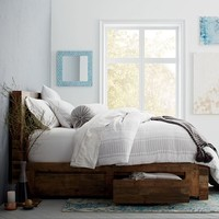 Emmerson™ Reclaimed Wood Storage Bed