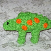 Spotted Dinosaur Crochet Toy Dinoasur Kids Stuffed  Toy Dinoasur