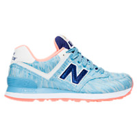 Women's New Balance 574 Summer Waves Casual Shoes | Finish Line