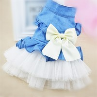 Dogs Dresses Dog/Cat Princess clothes Pet Dog Dress Tutu Dress chihuahua For Pet
