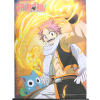 Fairy Tail Natsu Happy Fired Up Wall Scroll
