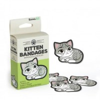 GAMA GO Kitten Bandages Sterile-18 pcs (1.75in x 2in)