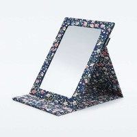 Blue Floral Mirror - Urban Outfitters