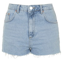 MOTO Authentic Bleached Mom Shorts - Shorts - Clothing
