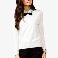 Bow Neck Sweater