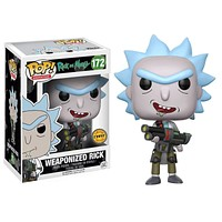 Rick and Morty Weaponized Rick POP! Chase Vinyl Figure #172