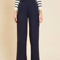 Every Opportunity Pants in Navy | Mod Retro Vintage Jackets | ModCloth.com