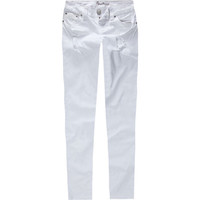 Amethyst Jeans Sequin Womens Skinny Pants White  In Sizes