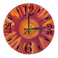 Sunshine Clock from Zazzle.com