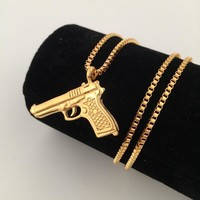 Jewelry Gift Shiny Stylish New Arrival Hip-hop Club Necklace [8439445571]