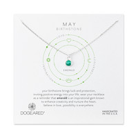 May Emerald Necklace, Sterling Silver | Dogeared