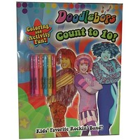 """""""doodlebops"""" - count to 10 - coloring book. Case of 36"""
