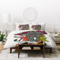 Valentina Ramos Ruby The Elephant Duvet Cover