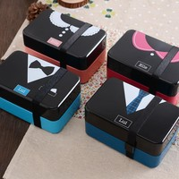 Creative Romantic Lovely Double-layered Box Fruits Food Box [6284225798]