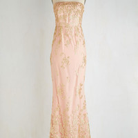 Long Maxi Bellini of the Ball Dress by ModCloth